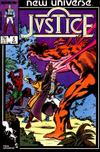 Cover for Justice (Marvel, 1986 series) #5 [Direct]