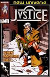 Cover for Justice (Marvel, 1986 series) #6 [Direct]
