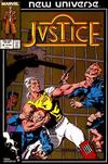 Cover for Justice (Marvel, 1986 series) #8 [Direct]