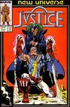 Cover for Justice (Marvel, 1986 series) #11 [Direct]