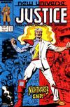 Cover for Justice (Marvel, 1986 series) #15