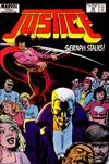 Cover for Justice (Marvel, 1986 series) #20
