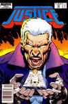 Cover for Justice (Marvel, 1986 series) #28