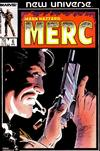 Cover for Mark Hazzard: Merc (Marvel, 1986 series) #6 [Direct Edition]