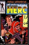 Cover for Mark Hazzard: Merc (Marvel, 1986 series) #8 [Direct]