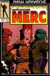 Cover for Mark Hazzard: Merc (Marvel, 1986 series) #9 [Direct]
