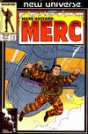 Cover for Mark Hazzard: Merc (Marvel, 1986 series) #10 [Direct Edition]