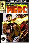 Cover for Mark Hazzard: Merc (Marvel, 1986 series) #11 [Direct Edition]