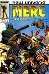 Cover for Mark Hazzard: Merc (Marvel, 1986 series) #12 [Direct]