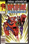 Cover Thumbnail for Spitfire and the Troubleshooters (1986 series) #1 [Newsstand]