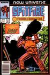 Cover for Spitfire and the Troubleshooters (Marvel, 1986 series) #2 [Newsstand]