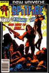 Cover for Spitfire and the Troubleshooters (Marvel, 1986 series) #7 [Newsstand]