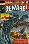 Cover for Beware (Marvel, 1973 series) #7