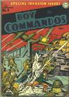 Cover for Boy Commandos (DC, 1942 series) #4