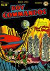 Cover for Boy Commandos (DC, 1942 series) #20