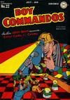 Cover for Boy Commandos (DC, 1942 series) #22