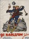 Cover for 91 Karlsson [julalbum] (Åhlén & Åkerlunds, 1934 series) #1942