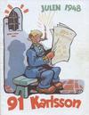 Cover for 91 Karlsson [julalbum] (Åhlén & Åkerlunds, 1934 series) #1948