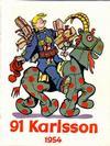 Cover for 91 Karlsson [julalbum] (Åhlén & Åkerlunds, 1934 series) #1954