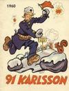 Cover for 91 Karlsson [julalbum] (Åhlén & Åkerlunds, 1934 series) #1960