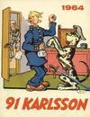 Cover for 91 Karlsson [julalbum] (Åhlén & Åkerlunds, 1934 series) #1964