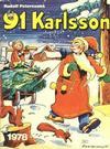 Cover for 91 Karlsson [julalbum] (Semic, 1965 ? series) #1978