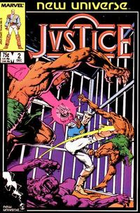 Cover Thumbnail for Justice (Marvel, 1986 series) #2 [Direct Edition]