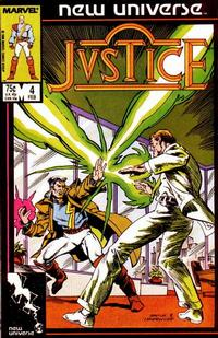 Cover Thumbnail for Justice (Marvel, 1986 series) #4
