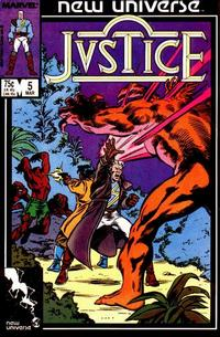 Cover Thumbnail for Justice (Marvel, 1986 series) #5