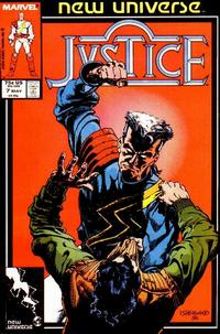 Cover Thumbnail for Justice (Marvel, 1986 series) #7 [Direct]