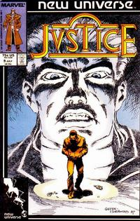 Cover Thumbnail for Justice (Marvel, 1986 series) #9 [Direct]