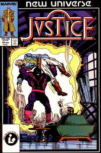 Cover Thumbnail for Justice (Marvel, 1986 series) #10 [Direct Edition]