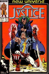 Cover Thumbnail for Justice (Marvel, 1986 series) #11