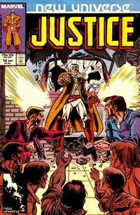 Cover Thumbnail for Justice (Marvel, 1986 series) #12 [Direct]