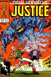 Cover Thumbnail for Justice (Marvel, 1986 series) #13 [Direct]