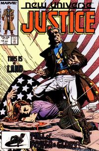Cover Thumbnail for Justice (Marvel, 1986 series) #14 [Direct]