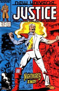 Cover Thumbnail for Justice (Marvel, 1986 series) #15