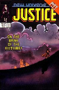 Cover Thumbnail for Justice (Marvel, 1986 series) #18