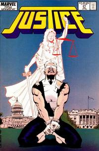 Cover Thumbnail for Justice (Marvel, 1986 series) #21