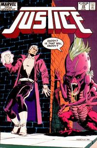 Cover Thumbnail for Justice (Marvel, 1986 series) #22