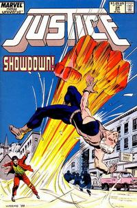 Cover Thumbnail for Justice (Marvel, 1986 series) #24
