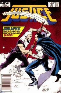 Cover Thumbnail for Justice (Marvel, 1986 series) #31