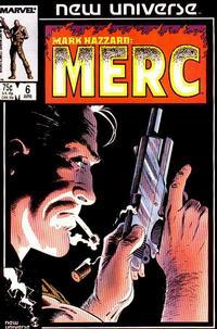 Cover Thumbnail for Mark Hazzard: Merc (Marvel, 1986 series) #6