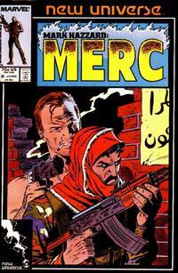 Cover Thumbnail for Mark Hazzard: Merc (Marvel, 1986 series) #8 [Direct]