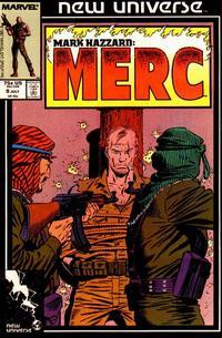 Cover Thumbnail for Mark Hazzard: Merc (Marvel, 1986 series) #9 [Direct]
