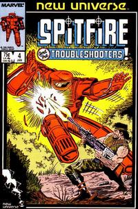 Cover Thumbnail for Spitfire and the Troubleshooters (Marvel, 1986 series) #4 [Direct]