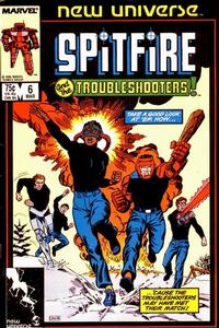 Cover Thumbnail for Spitfire and the Troubleshooters (Marvel, 1986 series) #6 [Direct]