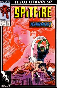 Cover Thumbnail for Spitfire and the Troubleshooters (Marvel, 1986 series) #8 [Direct]