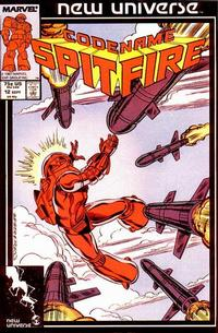 Cover for Codename: Spitfire (Marvel, 1987 series) #12 [Direct]