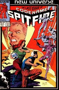 Cover Thumbnail for Codename: Spitfire (Marvel, 1987 series) #13 [Direct Edition]